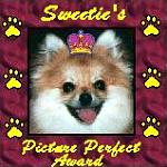 Sweetie's Picture Perfect Award